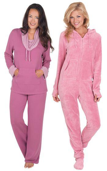 Raspberry World's Softest Pajamas & Pink Hoodie-Footie™
