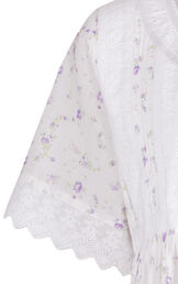 Model wearing Helena Nightgown in Lilac Rose for Women image number 6