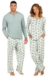 Balsam & Pine His & Hers Matching Pajamas image number 0