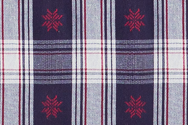 An image of Snowfall Plaid Matching fabric swatch
