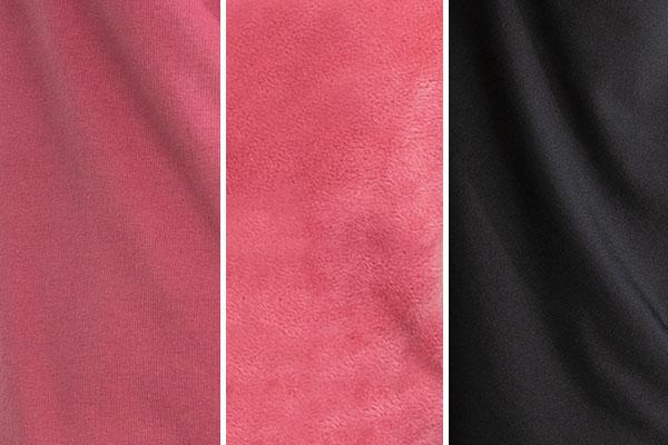 A swatch showing PajamaGram Hoodie-Footie Nordic Fleece colors