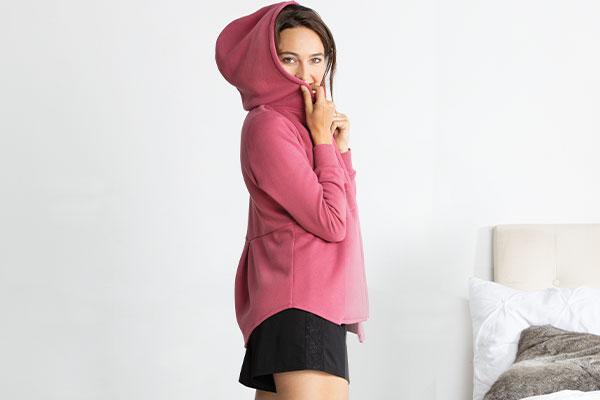 Models wearing PajamaGram Sexy & Sweet Pajama Set