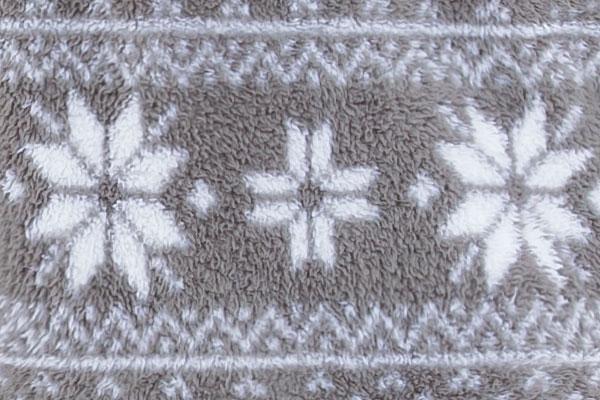 An image showing the Nordic Hoodie-Footie pajama print