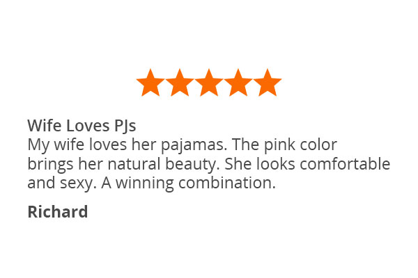 A customer quote about PajamaGram World's Softest Flannel Boyfriend Pajamas