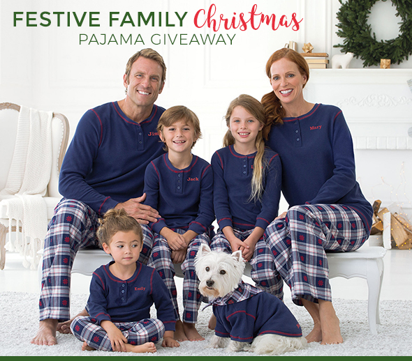 Pajamagram The Festive Family Christmas PJ Giveaway